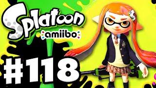 Splatoon - Gameplay Walkthrough Part 118 - Inkling Girl amiibo! (Nintendo Wii U)