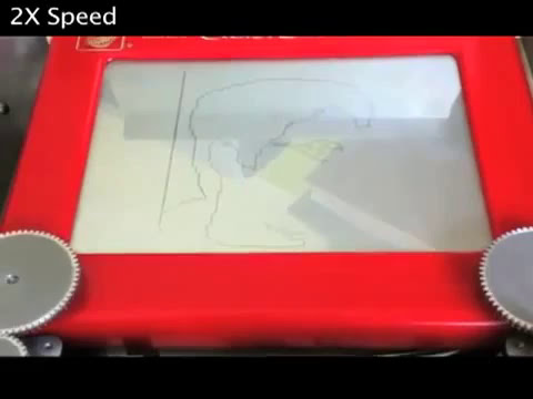 Arduino Contest -- Motorized Etch-a-Sketch
