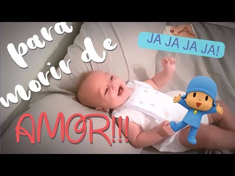 Mi bebé SE MUERE DE RISA!!!
