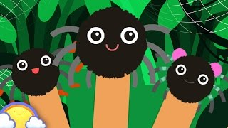 Itsy Bitsy Spider Finger Family | Nursery Rhymes for Children | CheeriToons