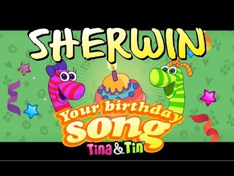 Tina&Tin Happy Birthday SHERWIN