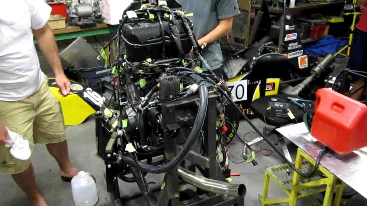 Shocker Racing Honda Cbr 600 Rr First Engine Start Youtube
