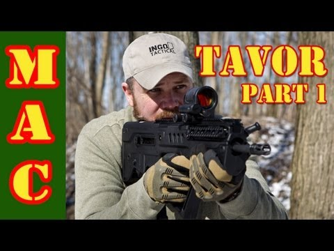 Tavor: First Shots with the US made Tavor