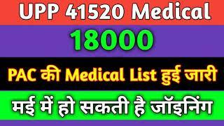 PAC की मेडिकल लिस्ट आ चुकी है. up police medical,upp pac medical date,up police , AKJT