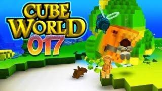 CUBE WORLD [HD+] #017 - Drei gegen GODZILLA! ★ Let's Play Cube World