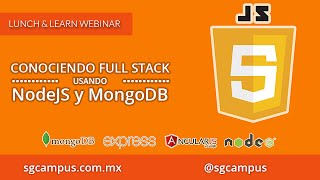 Conociendo Full Stack JavaScript usando NodeJs y MongoDB