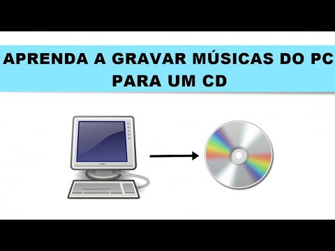 Como gravar músicas do pc para um CD VIRGEM sem baixar programas