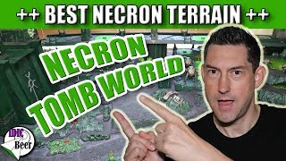 Necron Tomb World - Best Necron Terrain Ever!