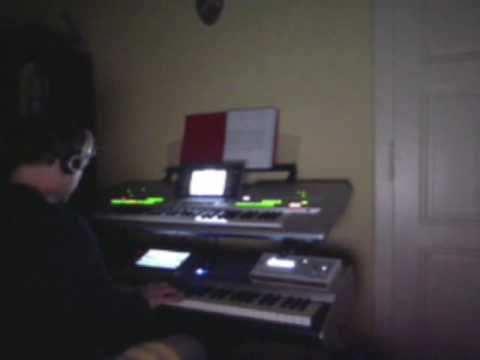 Access Virus Snow pads demos with Roland Fantom G8 Tyros 3 keyboards synths