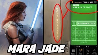 Mara Jade is Now Canon in Star Wars at Galaxy's Edge?