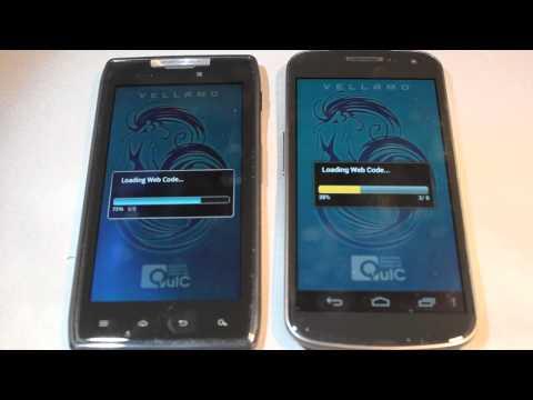 Motorola Droid Razr vs Galaxy Nexus Test (Boot time. Gps. Browser. Bench. Speaker)