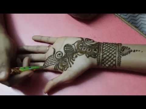 Arabic Mehandi Design Front Hand Video 2- Ilovemehandi.tv video