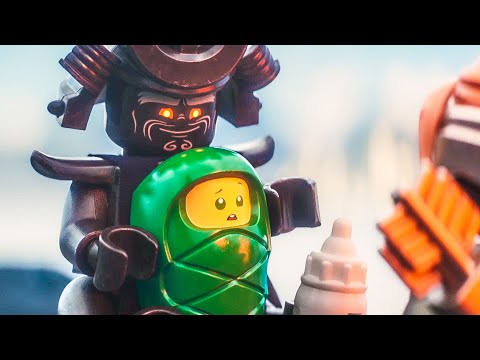 THE LEGO NINJAGO MOVIE Trailer 1 + 2 (2017) streaming vf