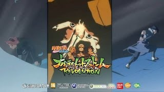 Naruto STORM Revolution™ Gameplay / Trailer II Word Tournament Full 4 Players All Ninjas Battle!