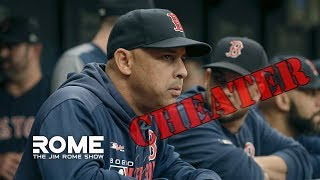 The Boston Red Sox Move On From Alex Cora | The Jim Rome Show