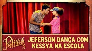 Jeferson dança com Kessya na Ruth Goulart | As Aventuras de Poliana
