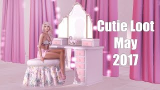 Cutie Loot - May 2017 - Unboxing Video - Second Life Subscription Box