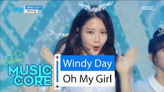 [HOT] OH MY GIRL - Windy Day, 오마이걸 - 윈디데이 Show Music core 20160604