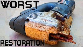Destroyed Rusty JigSaw PERFECT Restoration
