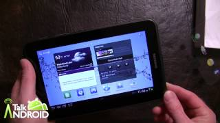Samsung Galaxy Tab 2 7.0 Unboxing and Initial Review