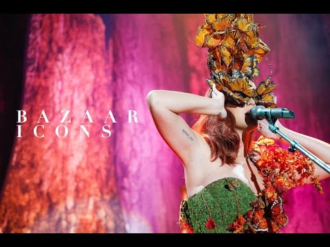 Katy Perry performs at Harpers Bazaar ICONS September issue party