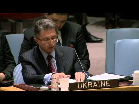 UN Security Council: The speech of Ukrainian representative on March 15.