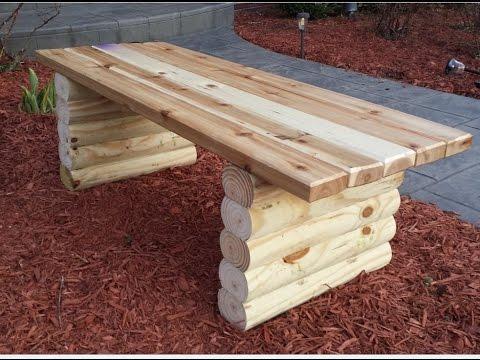 Sitzbank selber bauen