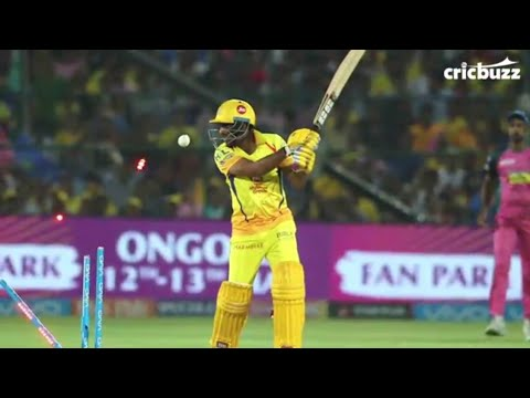 43rd match on Vivo IPL 2018 CSK vs RR full highlights and results scores.