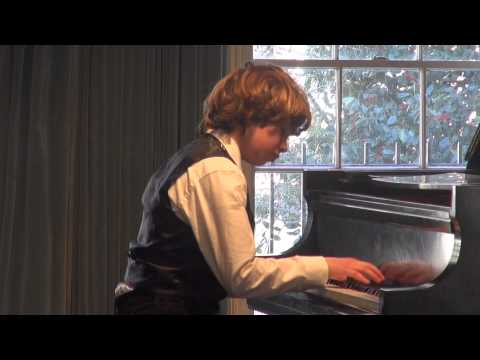 Chopin Polonaise in C-sharp minor, Op. 26 no.1 - Mohamed Boubendir at Greenwich School of Music