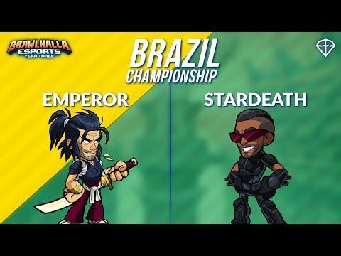Emperor vs StarDeath - BRZ 1v1 Top 8 - Brazil Championship