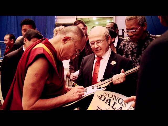 The Dalai Lama meets The Nobel Funk Off