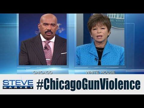 Valerie Jarrett: We Need To Hold People Accountable || STEVE HARVEY