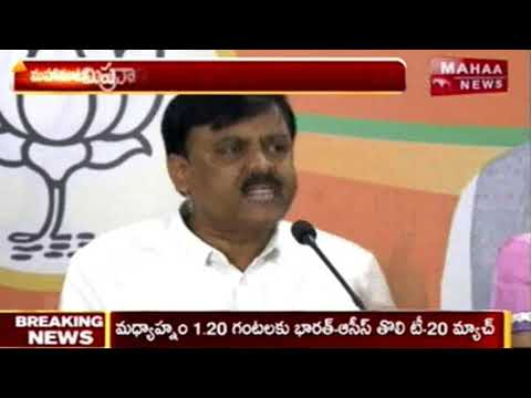 GVL Narasimha Rao Comments Nandamuri Suhasini over political entry | Mahaa News