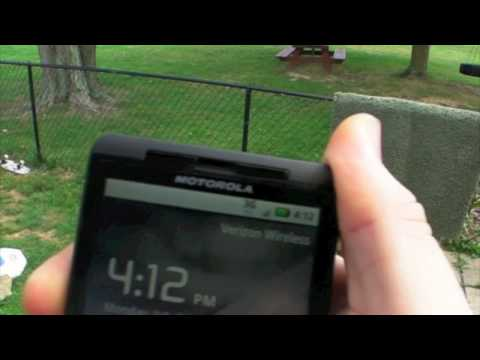 motorola droid x death grip test no case for the fanboys