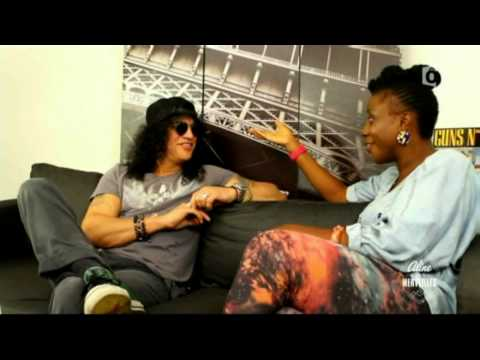 Slash - Interview Zenith, Paris France par Aline 20/10/2012