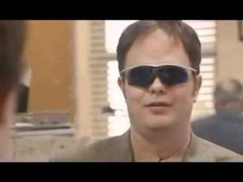 Dwight Schrute Jim Halpert Gotta Wear Shades BEST OFFICE DELETED SCENE