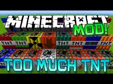 Minecraft House Mod Minecraft Too Much Tnt Mod