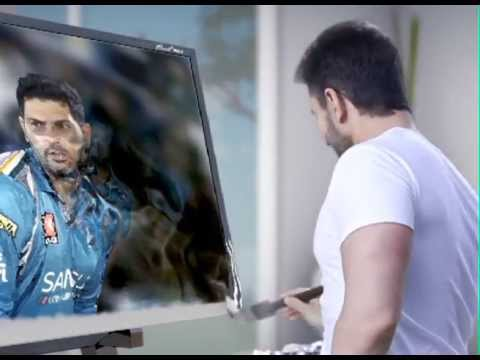Sansui Brush Metal LED IPL 6 TVC - Saif Ali K...