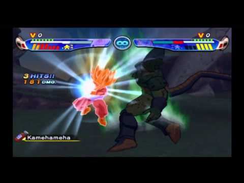 Dragon Ball Z: Budokai 3 Super Saiyan 2 Teen Gohan Vs Cell video
