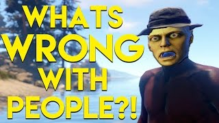 WHATS WRONG WITH THESE PEOPLE?! | Rust SOLO Survival