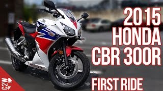 2015 Honda CBR 300R | First Ride