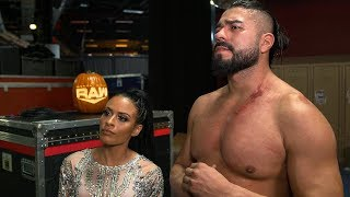 Zelina Vega on outsmarting the referee: Raw Exclusive, Oct. 21, 2019