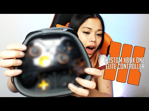 BLACK OPS 3 CUSTOM XBOX ONE ELITE CONTROLLER UNBOXING   Controller Chaos