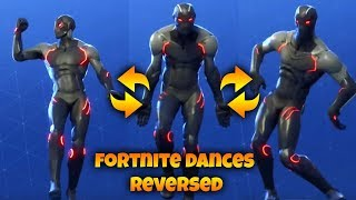 Fortnite Dances But They are Reversed...
