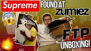 FINDING SUPREME AT ZUMIEZ! | FTP NOVEMBER RELEASE INSANELY DISAPPOINTING UNBOXING!