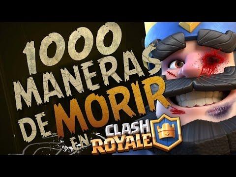 '1000 MANERAS de MORIR' en Clash Royale  bytarifa