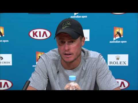 Lleyton Hewitt press conference (2R) - Australian Open 2015