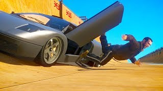 GTA 4 RAGDOLLS | TOP SPEED Jumping From Cars Grand theft auto IV (Euphoria physics | Funny Moments)