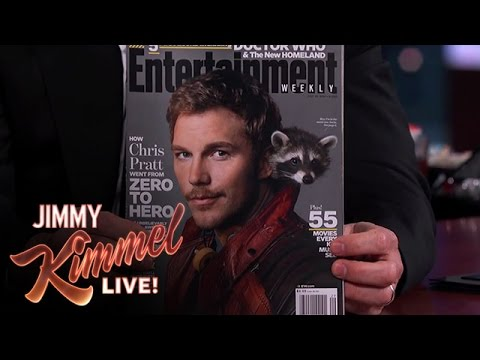 Chris Pratt on Getting Attacked by a Raccoon
