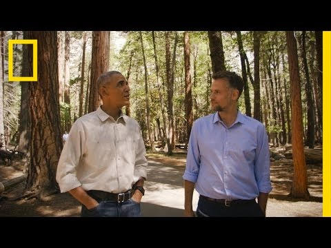 """America's Best Idea"" - President Obama on National Parks"